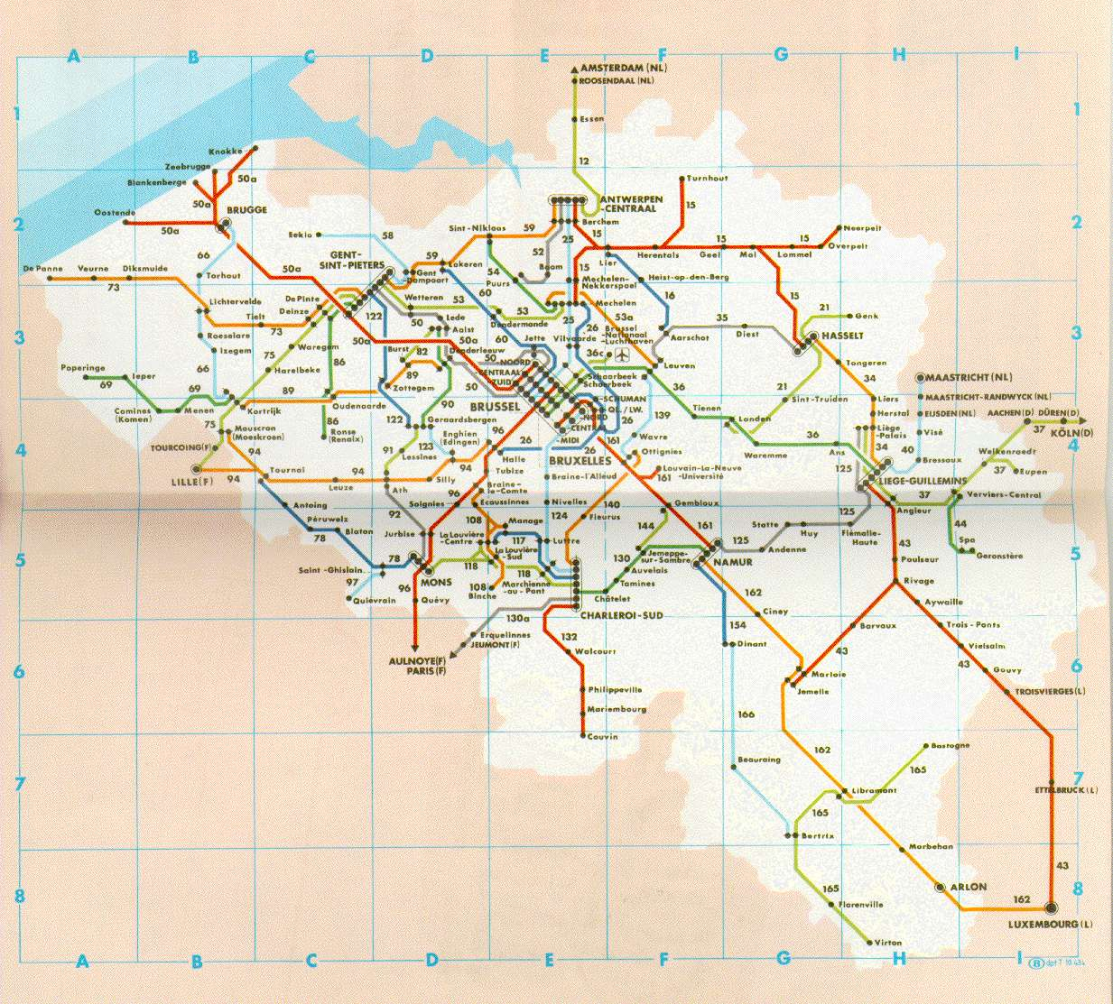 Train and Tram Stations in Flanders SmartExpat